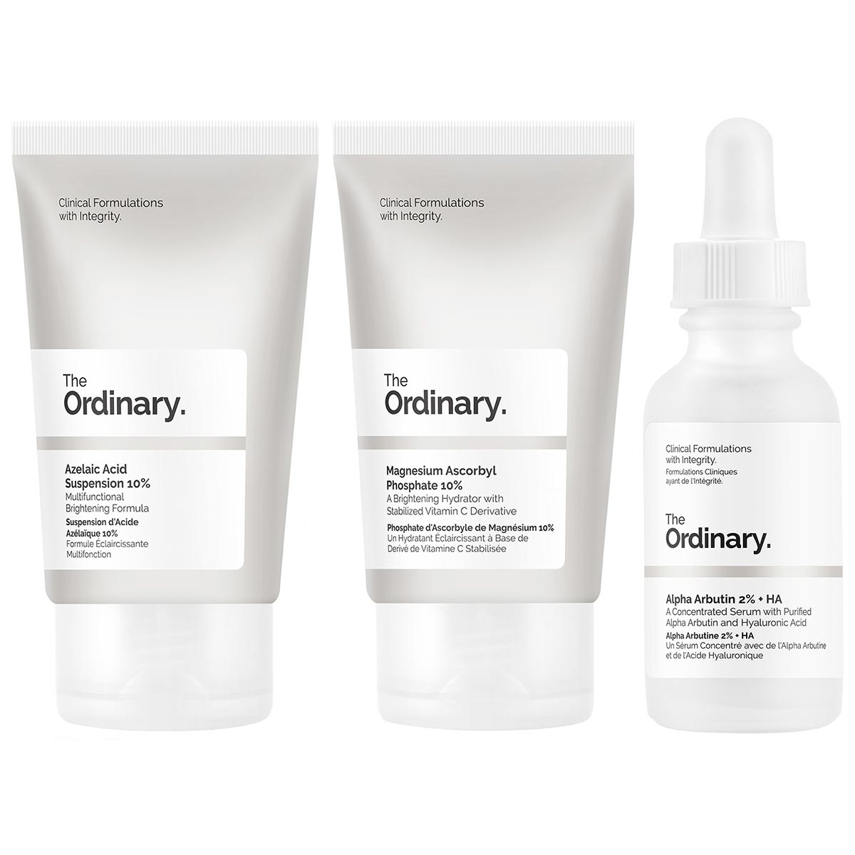 The Ordinary Set Of Actives - Hyperpigmentation