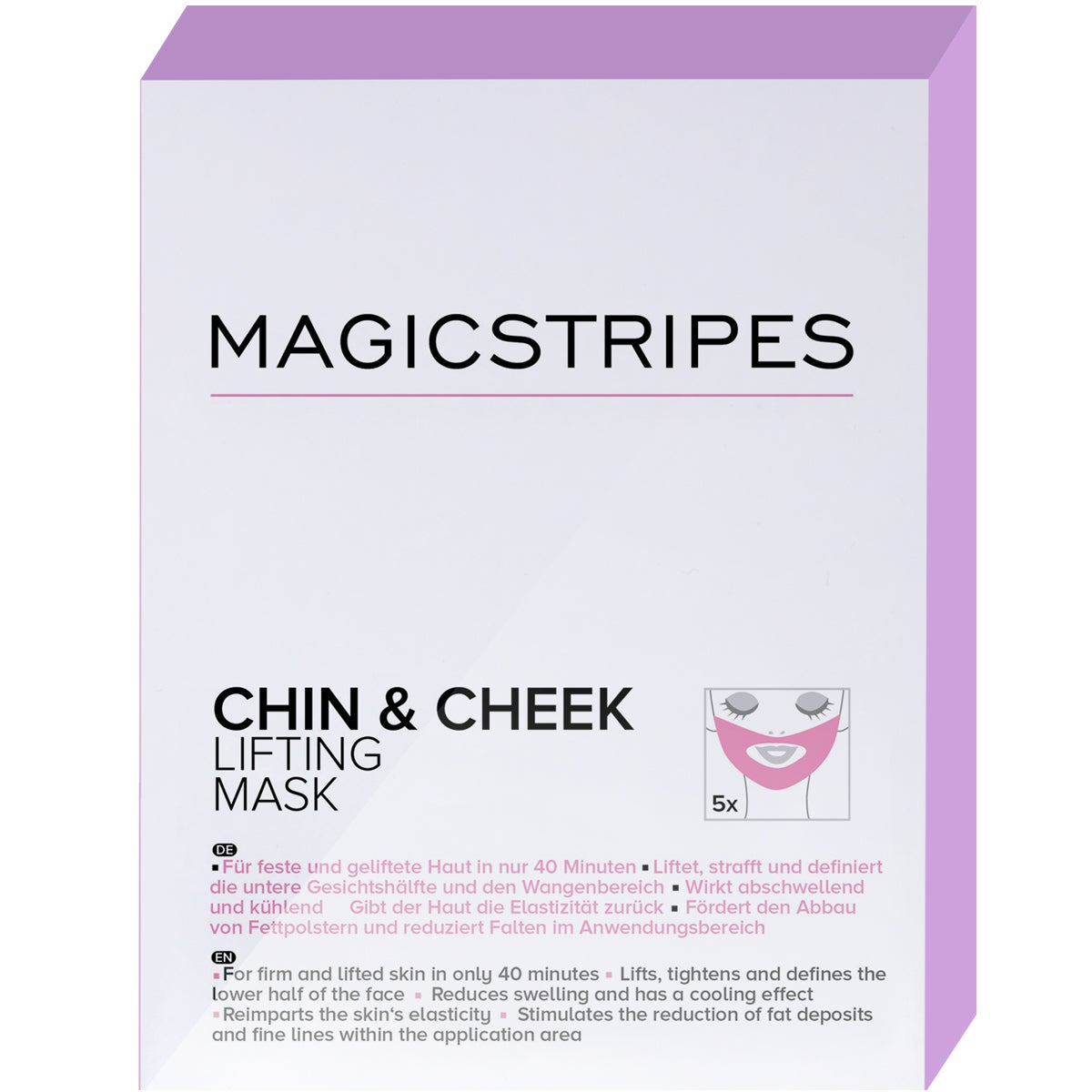 Magicstripes Chin & Cheek Lifting Mask