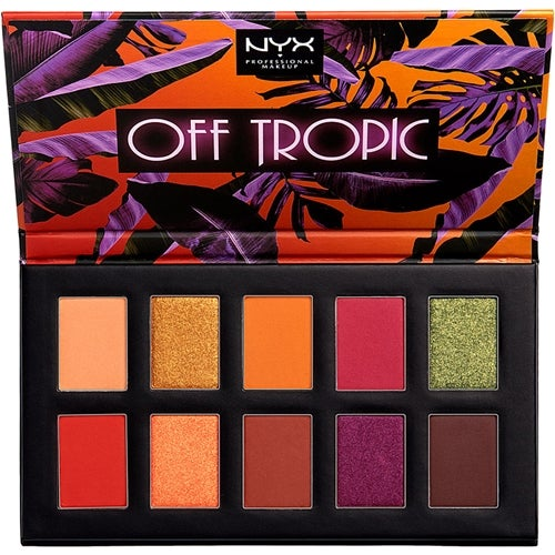 NYX Professional Makeup Off Tropic Eye Shadow Palette