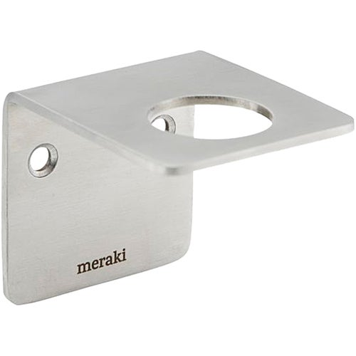 Meraki Wall Bracket Brushed Silver Finish