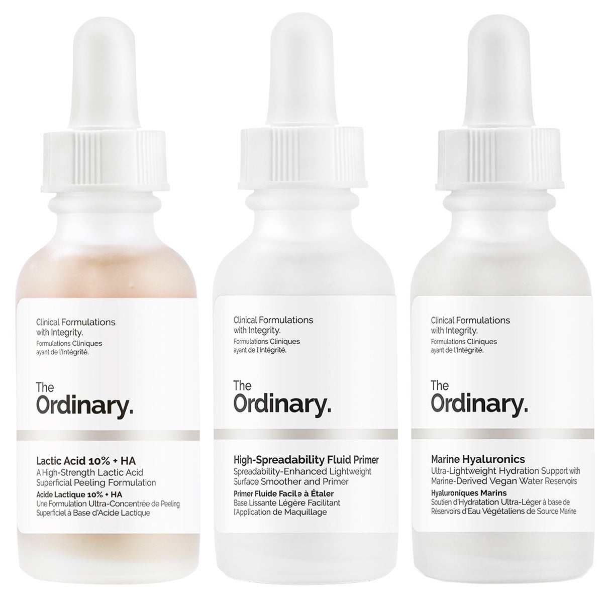 The Ordinary Set of Actives - Starter Kit For All Skintypes