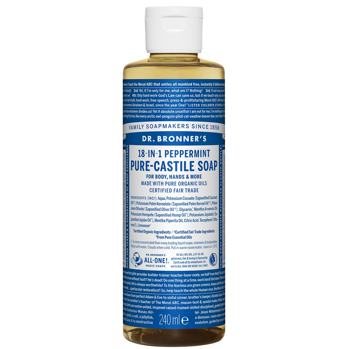 Dr. Bronner's Magic Soaps Peppermint