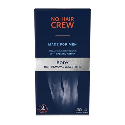 No Hair Crew Body Hair Removal Wax Strips