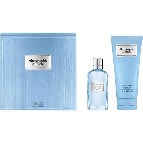 Abercrombie & Fitch First Instinct Blue Woman Gift Set 2018