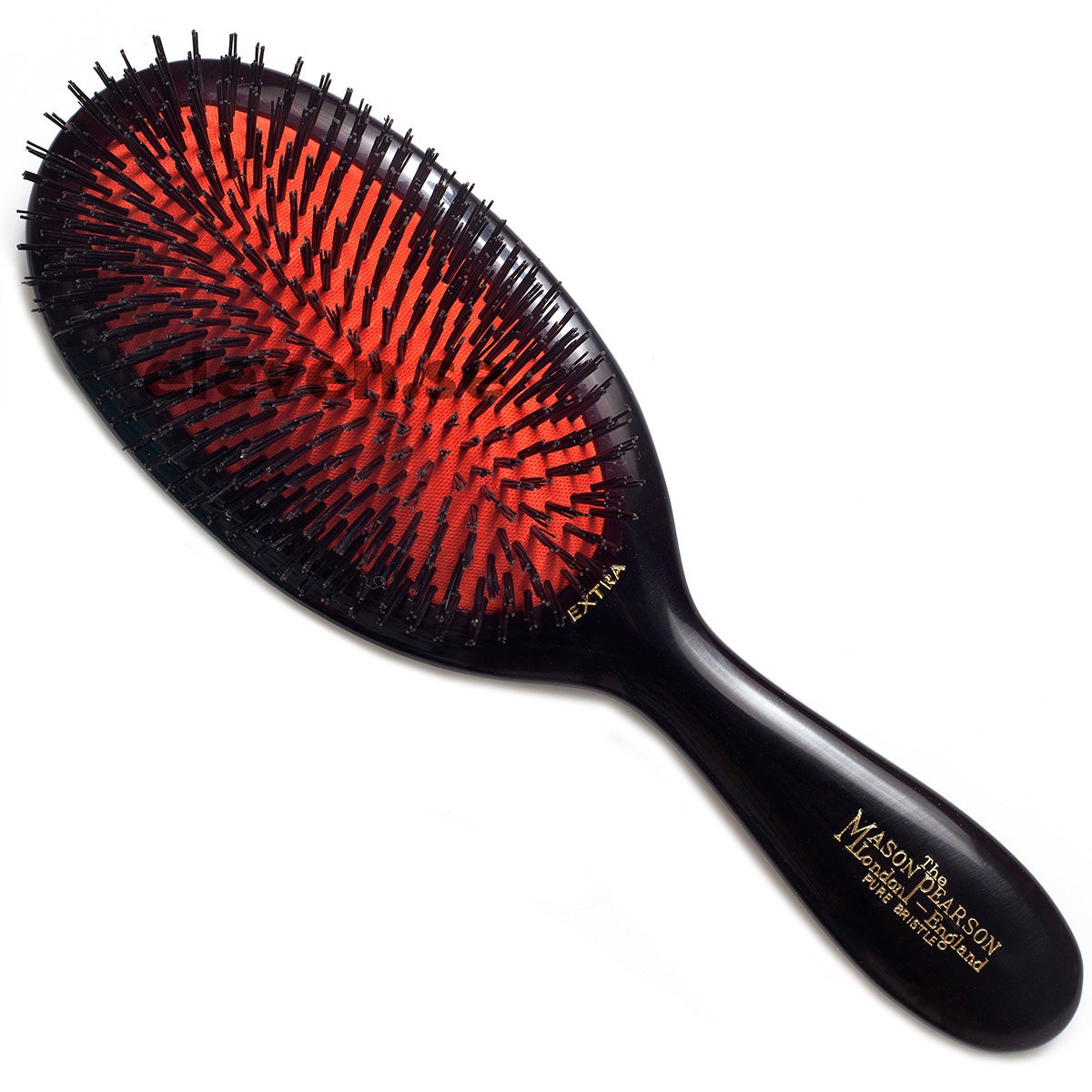 Mason Pearson Large Pure Bristle, Dark Ruby