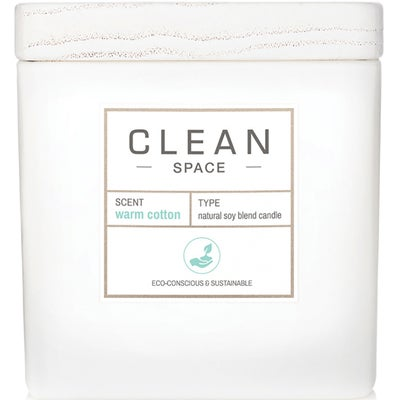 Clean Space Warm Cotton Candle
