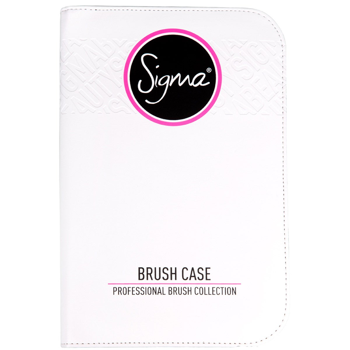 Sigma Beauty Sigma Professional Brush Collection Brush Case, White