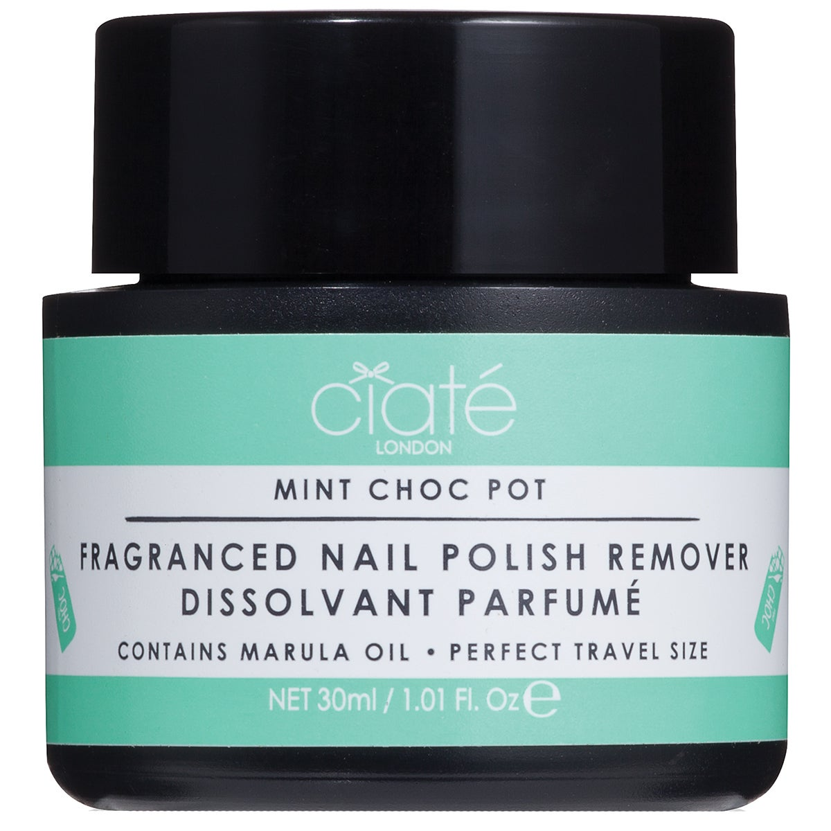 Ciaté Fragranced Nail Polish Dip-In Remover, Mint Chocolate