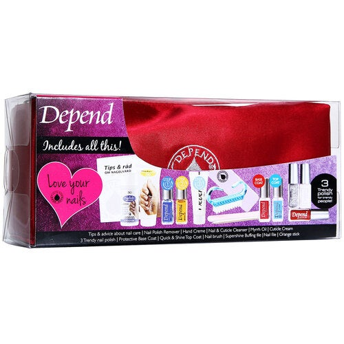 Depend Complete Nail-Care Vanity Case