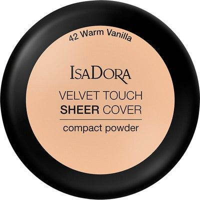 IsaDora Velvet Touch Sheer Cover Compact Powder SPF20