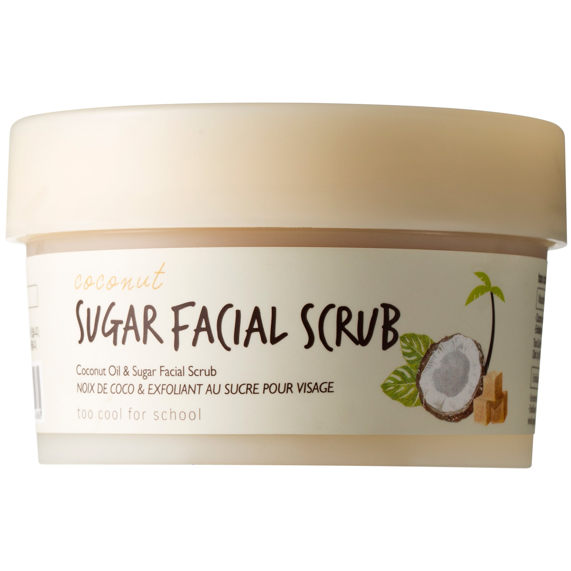 TooCoolForSchool Coconut Sugar Facial Scrub