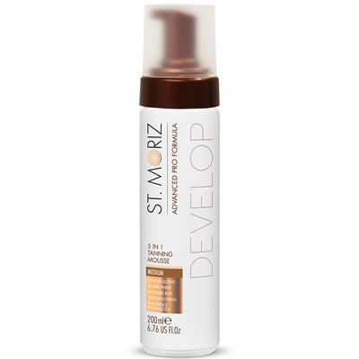 St Moriz Advanced Pro 5-in-1 Tanning Mousse