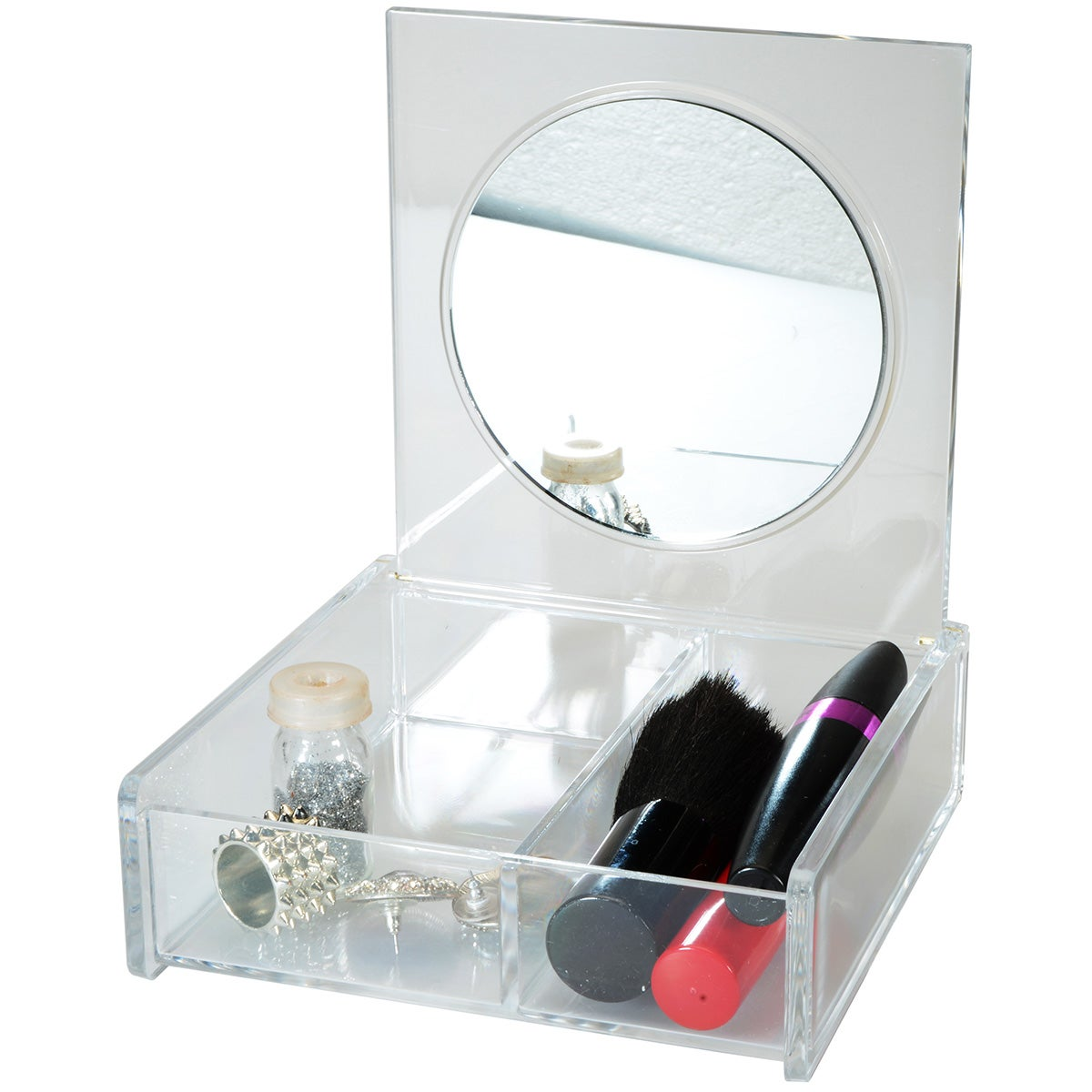Beauty Organizers Cosmetic Organizer with Mirror