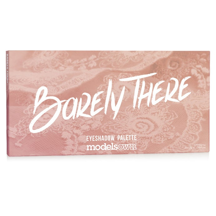 Models Own Eyeshadow Palette: Barely There