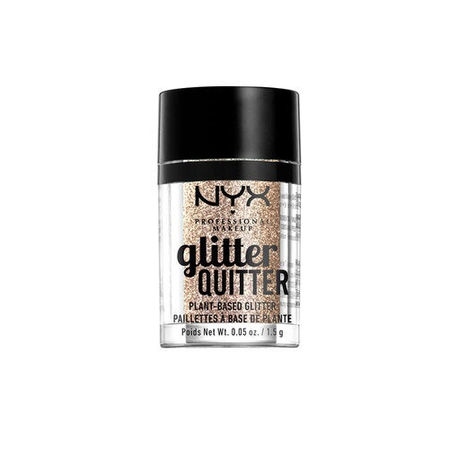 NYX Professional Makeup Glitter Quitter Plant Based Glitter