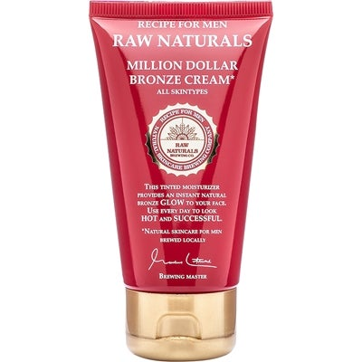 Raw Naturals by Recipe for Men Raw Naturals Million Dollar Bronze Cream