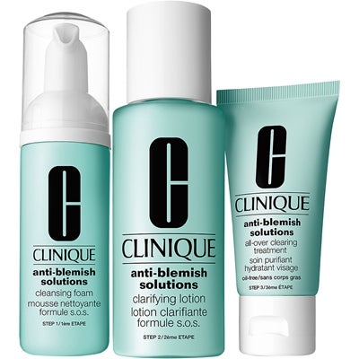 Clinique Anti-Blemish Solutions 3-Step Skin Care System