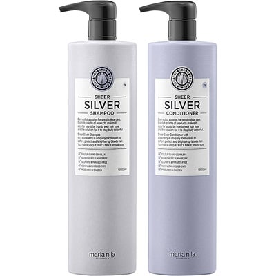 Maria Nila Sheer Silver Duo