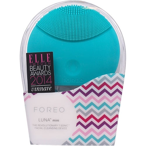 Foreo FOREO LUNA Mini Cleansing Brush, Turquoise Blue