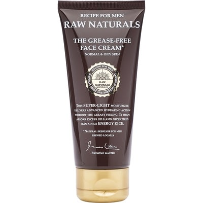 Raw Naturals by Recipe for Men Raw Naturals The Grease-Free Face Cream