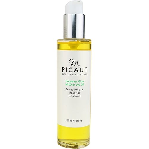 M Picaut Swedish Skincare Goodness Glow All Over Dry Oil