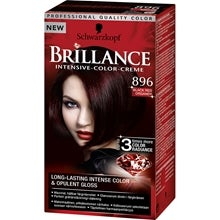 Schwarzkopf Brillance Intensive Color-Creme 896 Black Red