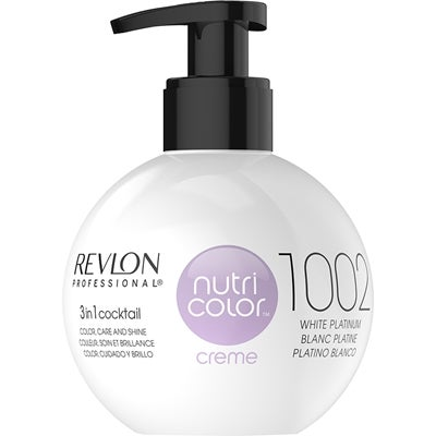 Revlon Professional Nutri Color Creme 1002 White Platinum