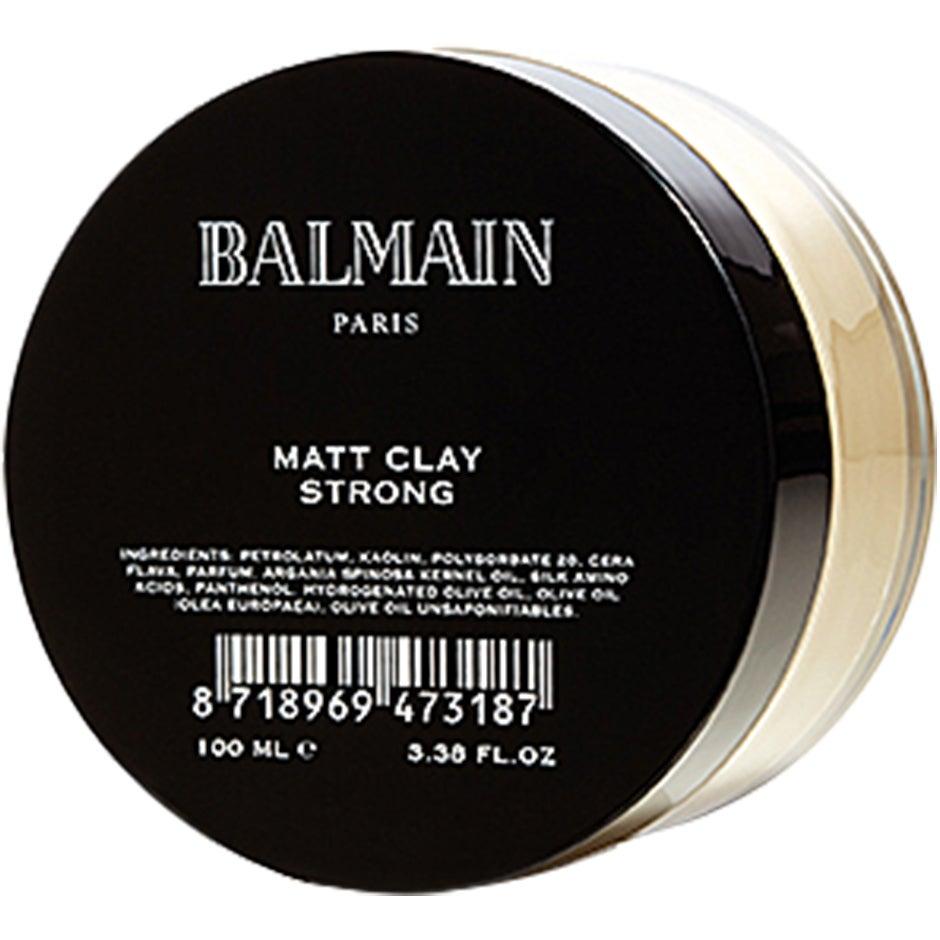 Bilde av Balmain Matt Clay, 100 Ml Balmain Hair Couture Hårstyling