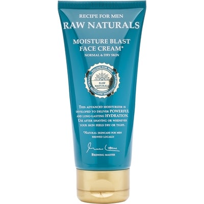 Raw Naturals by Recipe for Men Raw Naturals Moisture Blast Face Cream