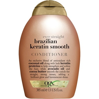 OGX Ogx Even Straight Brazilian Keratin Smooth Conditioner