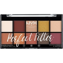 NYX Professional Makeup NYX PROFESSIONAL MAKEUP Perfect Filter Shadow Palette