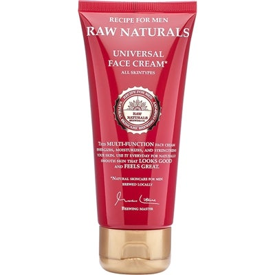 Raw Naturals by Recipe for Men Raw Naturals Universal Face Cream
